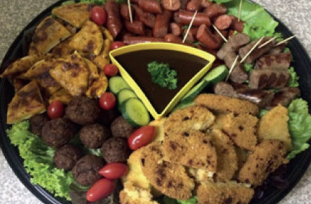 Cool Runnings House Platter