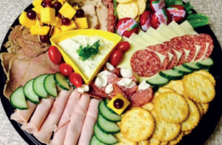 Cool Runnings Meat and Cheese Platter