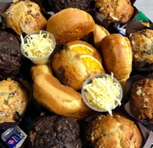 Cool Runnings Muffin Platter