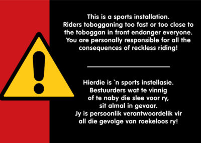 Cool Runnings Safety Warning